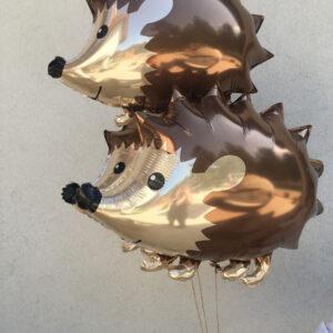 balony w kształcie jeży