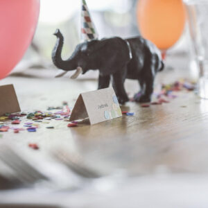 winietka na przyjecie urodzinowe