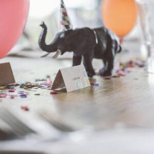 winietka na przyjęciu urodzinowym