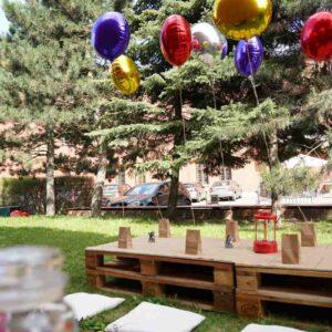 balony w strefie dla dzieci