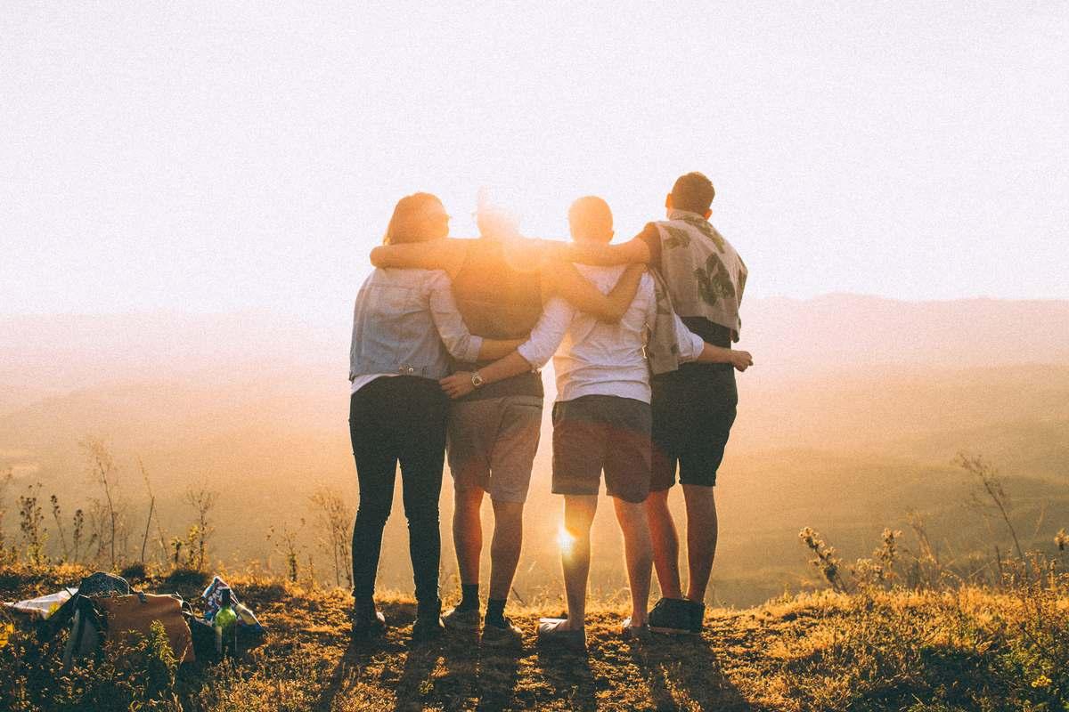 grupa znajomych