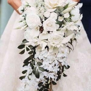 bogaty bukiet ślubny