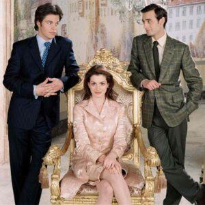 księżniczka i dwóch potencjalnych narzeczonych