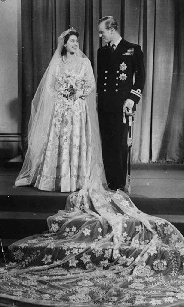 Księżniczka Elżbieta i Książe Filip