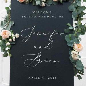 tablica na wesele