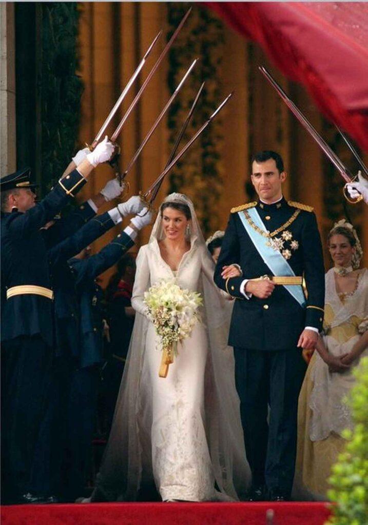 Książe Felipe VI i Letizia Ortiz