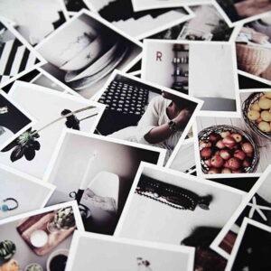 rozsypane zdjęcia