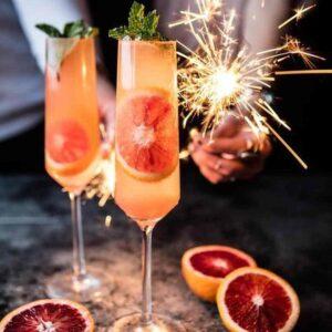 pomarańczowy drink