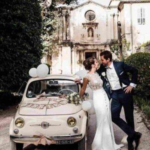maluch jako auto na ślub