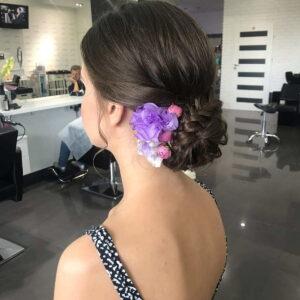 kok z kwiatami na ślub