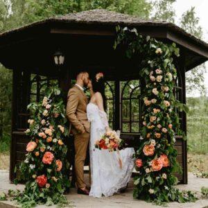 zaślubiny w altanie