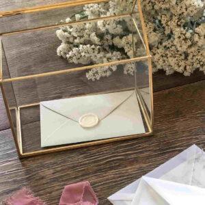 szkatułka na koperty