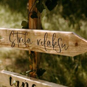 drogowskazy na wesele