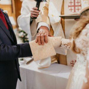 zawarcie związku małżeńskiego w kościele