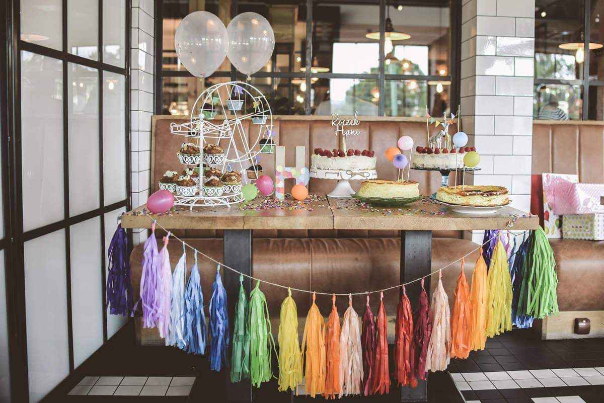 candy bar na urodziny