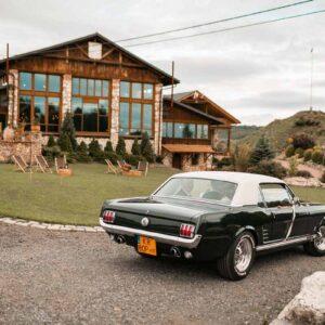 Ford Mustang GT do ślubu