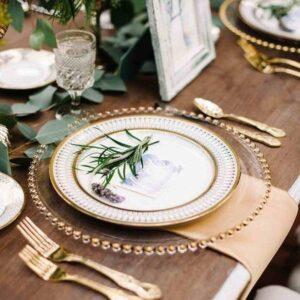 nakrycie na wesele