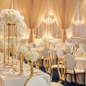 krzesła glamour na wesele